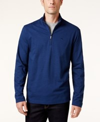 Tommy Bahama Men's Shadow Cove Half Zip Sweatshirt A Macy's Exclusive Style Blueberry