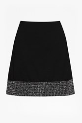 French Connection Crystal Shot Mini Skirt Black