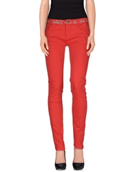 Desigual Casual Pants Red