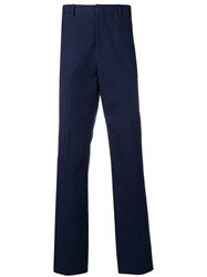 Golden Goose Deluxe Brand Tailored Straight Leg Trousers Blue