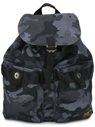 Polo Ralph Lauren Camouflage Print Backpack Black