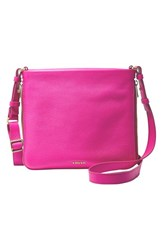 Fossil 'Preston' Crossbody Bag Pink Hot Pink