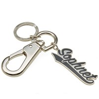 Sophnet. Tail Logo Key Ring Black