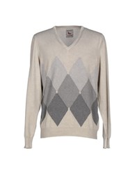 Gran Sasso Knitwear Jumpers Men Beige