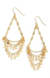 Argentovivo Women's Argento Vivo Chandelier Drop Earrings