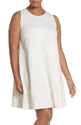 Plus Size Women's Tart French Terry A Line Dress