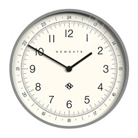Newgate Number One Academy Wall Clock Posh Grey