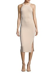 Alice Olivia Lumi Fitted Racerback Dress Just Nothing