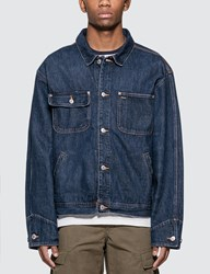 Polo Ralph Lauren Dungaree Sports Throwback Jacket Blue
