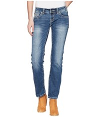 Rock And Roll Cowgirl Rival Bootcut In Medium Wash W6t5079 Medium Wash Jeans Navy