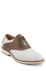 G.H. Bass Men's And Co. Noah Saddle Shoe Oyster Brown