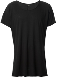 Avelon Loose T Shirt Black