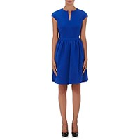 Giorgio Armani Women's Silk Cap Sleeve Dress Blue
