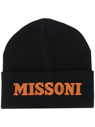 Missoni Embroidered Logo Beanie 60
