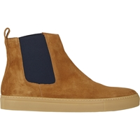 Barneys New York Chelsea Sneaker Boots Beige Tan