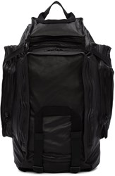 Julius Black Multi Zip Backpack