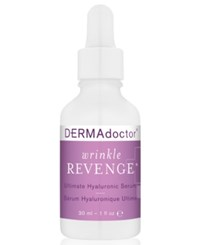 Dermadoctor Wrinkle Revenge Ultimate Hyaluronic Serum 1 Oz. No Color