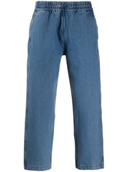 Levi's Drawstring Cropped Denim Trousers 60