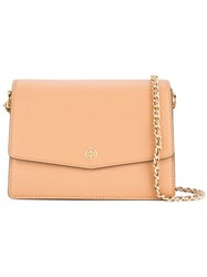 Tory Burch Robinson Shoulder Bag Brown