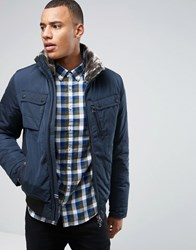 Tommy Hilfiger Bob Zip Through Jacket Navy