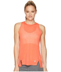 Asics Cool Tank Top Coralicious Sleeveless Orange