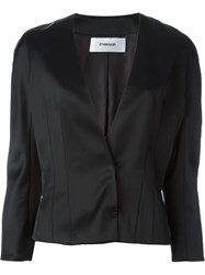 Chalayan Short Tailored Jacket Black