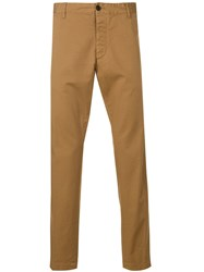 Dsquared2 Classic Straight Trousers Neutrals