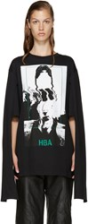 Hood By Air Black Montgomery Graduation T Shirt