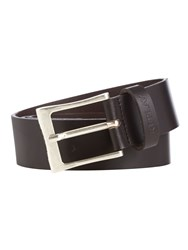 Replay Leather Belt Green