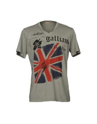 Galliano T Shirts Grey