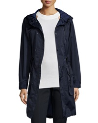 Atm Techno Parka With Hood Navy