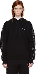 Etudes Studio Black Time Out Hoodie