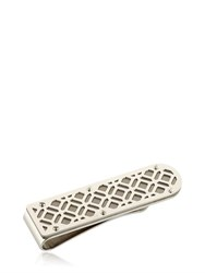 Montegrappa Cutout Stainless Steel Money Clip