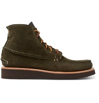 Yuketen Maine Guide Suede Boots Green