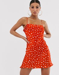 Bec And Bridge Jazzy Floral Mini Dress Red