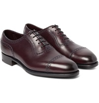 Edward Green Canterbury Adelaide Cut Leather Oxford Brogues