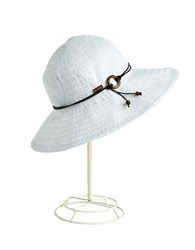 Betmar Floppy Sun Hat White