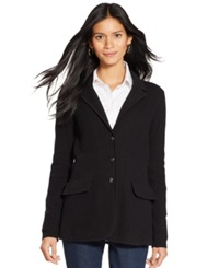 Lauren Ralph Lauren Sweater Blazer Black