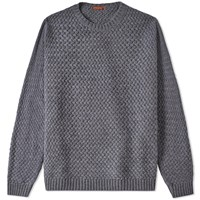 Barena Dosson Textured Crew Knit Grey