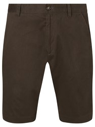 John Lewis Cotton Chino Shorts Dark Olive