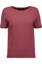 Theory Tolleree Cashmere Sweater Plum