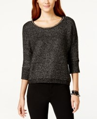 Xoxo Juniors' Embellished Sweater Charcoal