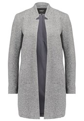 Only Onllika Blazer Dark Grey Melange Mottled Dark Grey