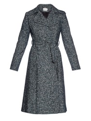 Goat Astoria Wool Blend Tweed Coat