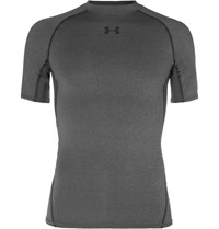Under Armour Heatgear Compression T Shirt Gray