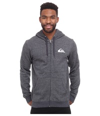 Quiksilver Everyday Zip Anthracite Men's Clothing Pewter