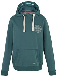 Fat Face South Coast Zip Hoodie Seagreen