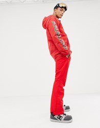 Protest Oweny Snow Pants In Red