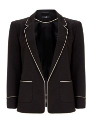 Wallis Black Tipped Blazer