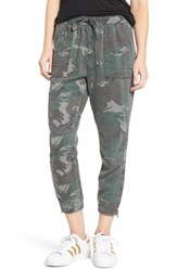 Pam And Gela Women's Camo Jogger Pants